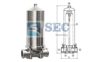 Stainless Steel Single Fluid Industrial Filter Housing 300x200 - Stainless Steel Single Fluid Industrial Filter Housing