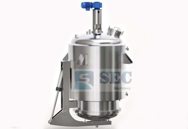 A mushroom round tank: multi-function extraction tank